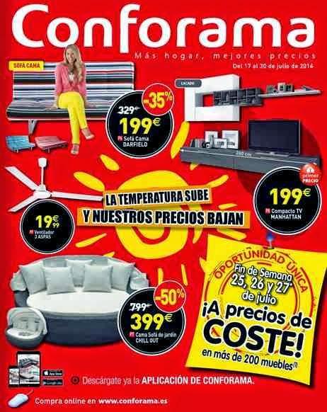 catalogo de muebles conforma julio 2014