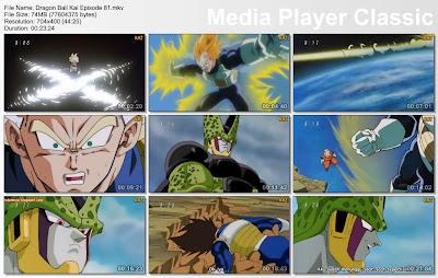 "Download Film / Anime Dragon Ball Kai Episode 81 ""Serangan Terakhir Vegeta! Ketakutan Terhadap Cell Wujud Sempurna"" Bahasa Indonesia"