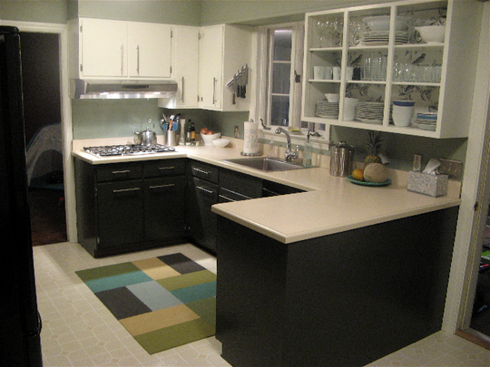 enzy living diy kitchen cosmetic makeovers on apartment therapy