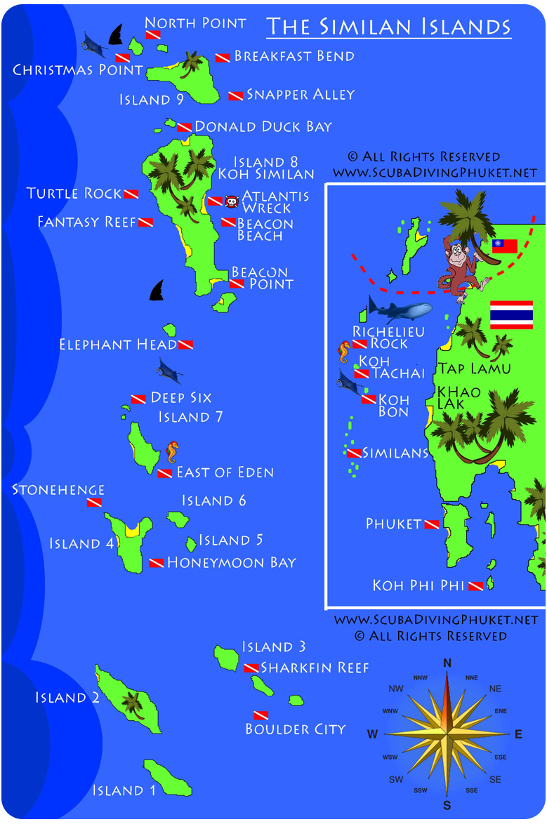 Tezzas Beaches and Islands: Similan Islands