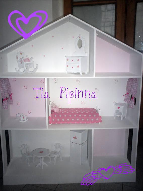 Casita de muñecas c/muebles
