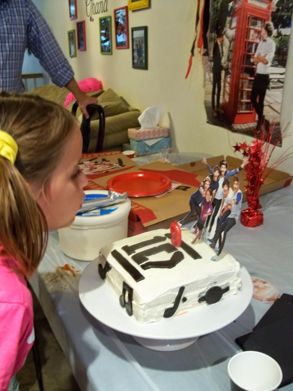 Melinda Makes Cake One Direction Birthday Cake