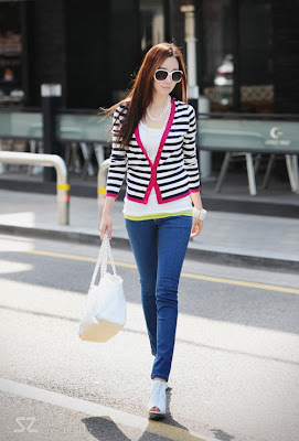 casual cute korean girls fashion trends style 2012 the