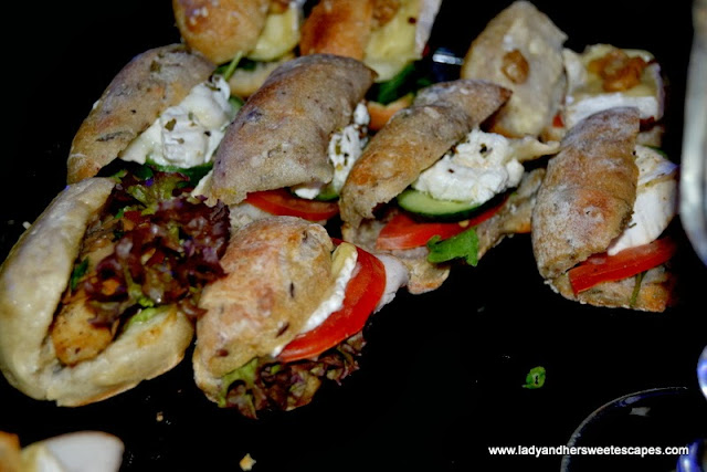 Fournil De Pierre's sandwiches