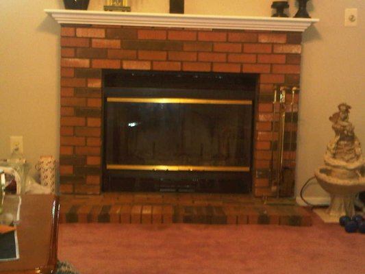 Brick Fireplace Surrounds7
