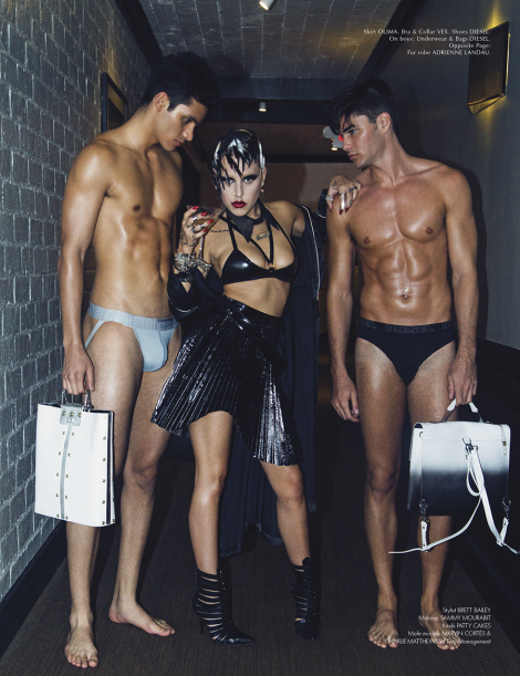 Brooke Candy by Jacob Dekat for Galore Magazine