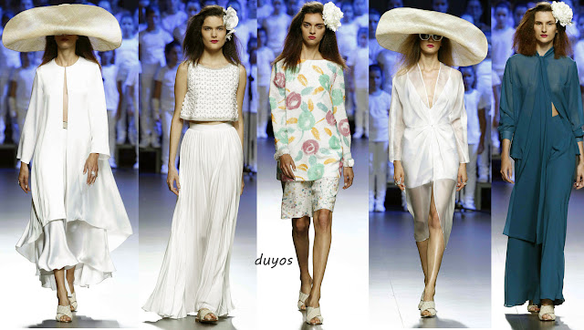 Duyos mercedes benz fashion week madrid