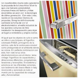 diseño,Smeg, años 50´s, electrodomésticos Pina