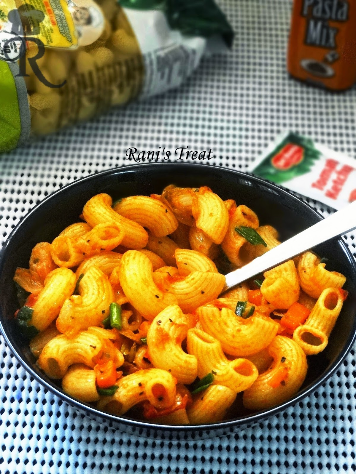 Ranis treat indian style pasta quick pasta easy masala pasta indian style pasta quick pasta easy masala pasta forumfinder Image collections