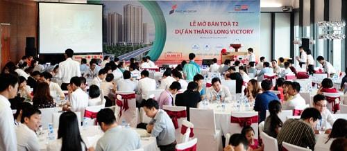 lễ mở bán T2 Thăng Long Victory ngày 3/10/12015