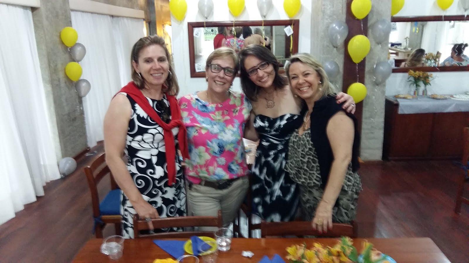Regina, eu, Cami e Silvana! 2015