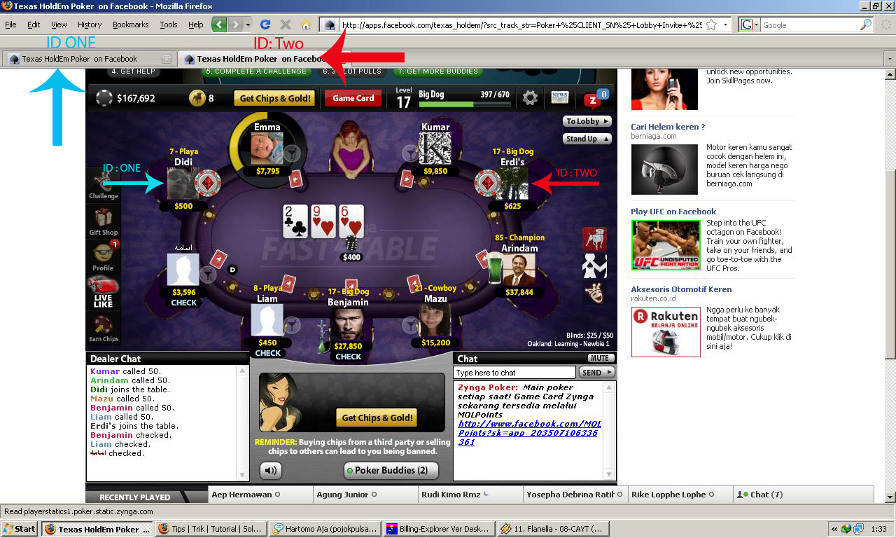 facebook, akun, account, With, two, one, trick, in, cara, trik, play, bermain, poker, dua, Id, Dalam, satu, Browser, mozila, bagaimana,di, facebook, rahasia,by,  opa-ma.blogspot.com