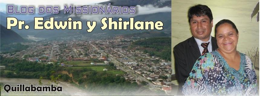 Missionários Edwin y Shirlane