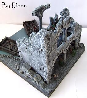 Diorama Władca Pierścieni: Osgiliath