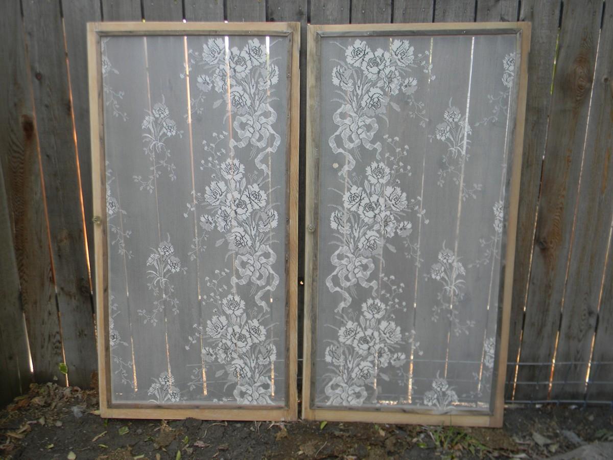 Wallmarks more lace window screens for Window screen