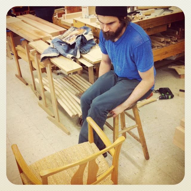 Darrick Rasmussen, furniture woodworking