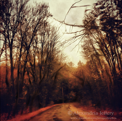 Highway on Fire by Alexandria Jeffery
