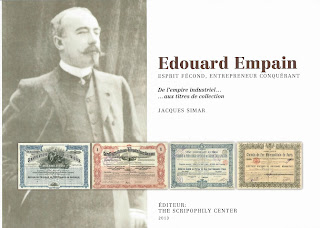 cover of the book Edouard Empain - de l'empire industriel .. aux titres de collection