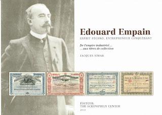 cover of the book Edouard Empain - de l'empire industriel .. aux titres de collection