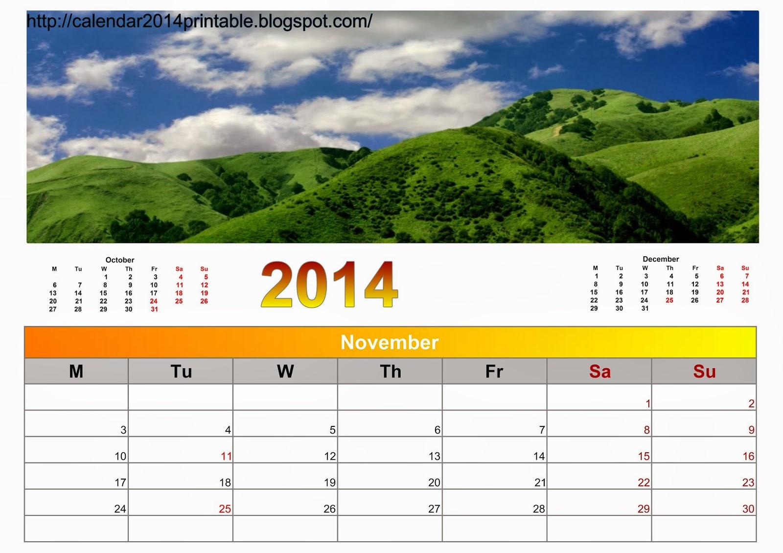 Nature S Calendar Wallpaper : Calendar nature with wallpapers free printable