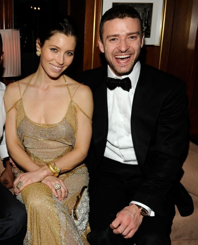 ENGAGED Justin Timberlake Jessica Biel After a series of breakups and