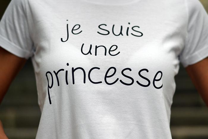 maglietta je suis une princesse