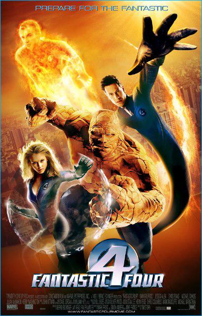 dreamscene: Fantastic Four (2005) - Dual Audio