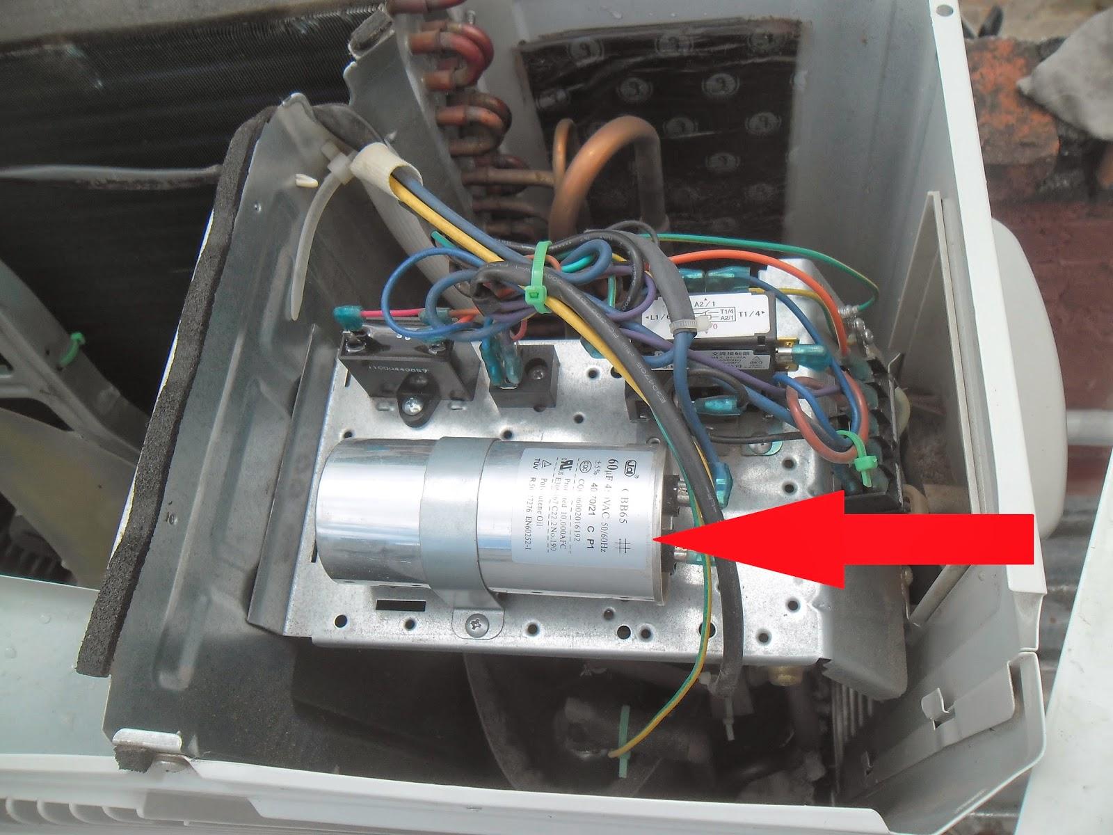 2 partes de un equipo de aire acondicionado servicio for Como montar un aire acondicionado