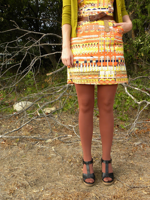 tracy reese ikat tribal print dress