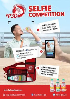 Info-Kontes-Kontes-Foto-Selfie-Cap-Kaki-Tiga #P3D