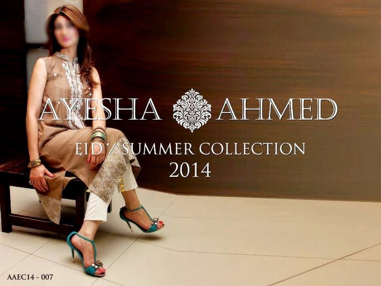 Ayesha Ahmed EID Dress Collection 2014