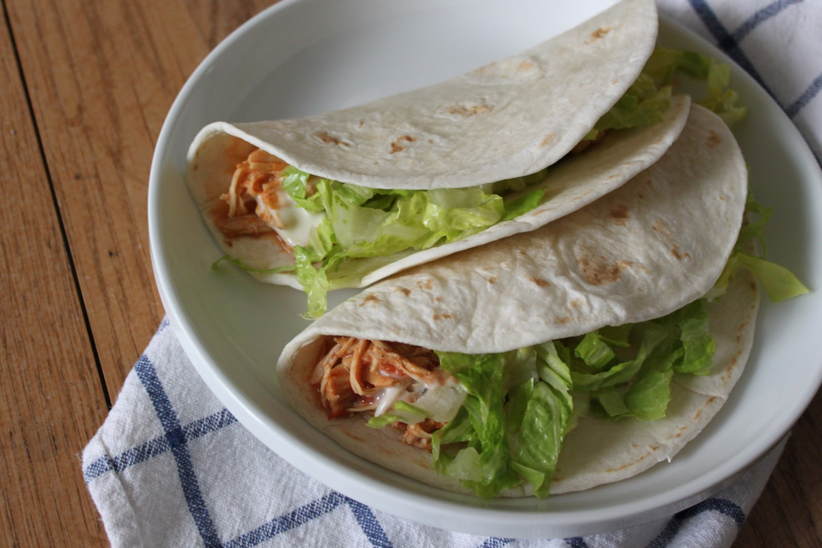 jane create: simple shredded chicken tacos