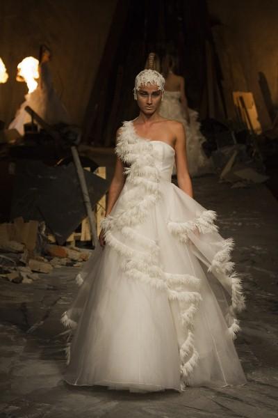 Wedding dress monday for David fielden wedding dresses