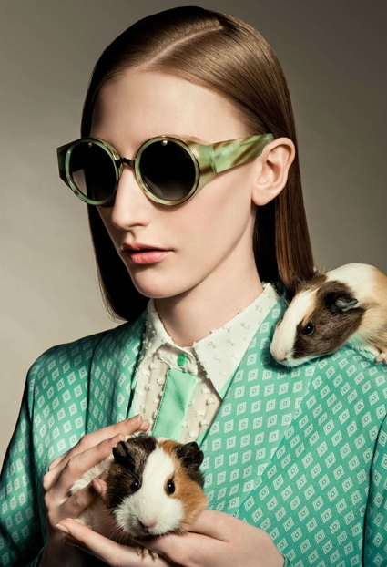 Isson Eyewear 2012: Martha sunglasses