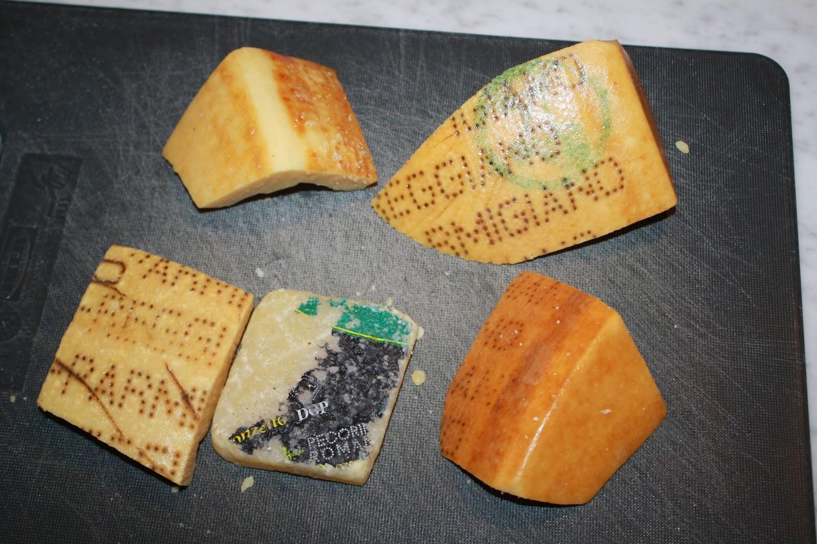 ricette avanzi croste di formaggio