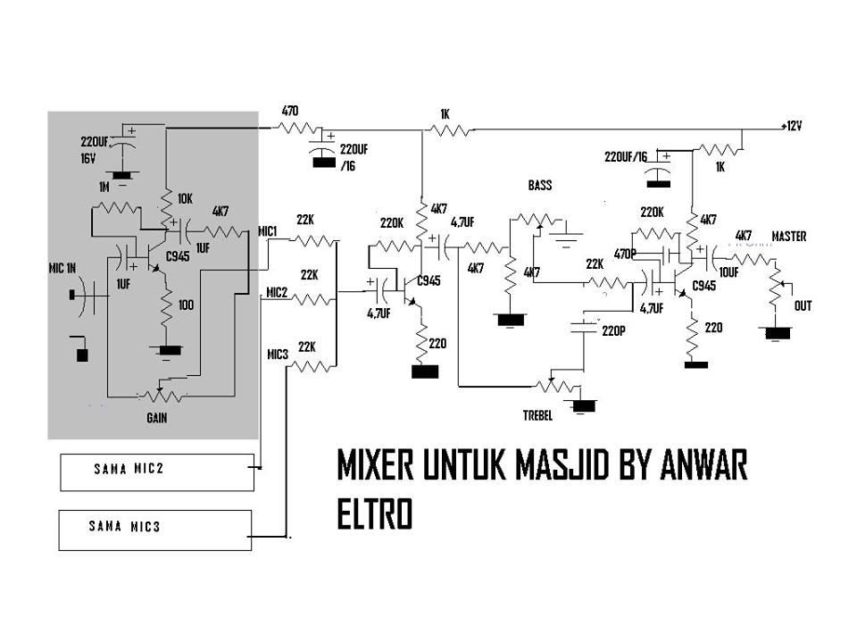 Funky Audio Mixer Layout Dan Skema Images - Wiring Diagram Ideas ...