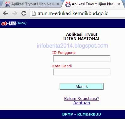 Aplikasi Tryout Ujian Nasional (ATUN) Kemdikbud