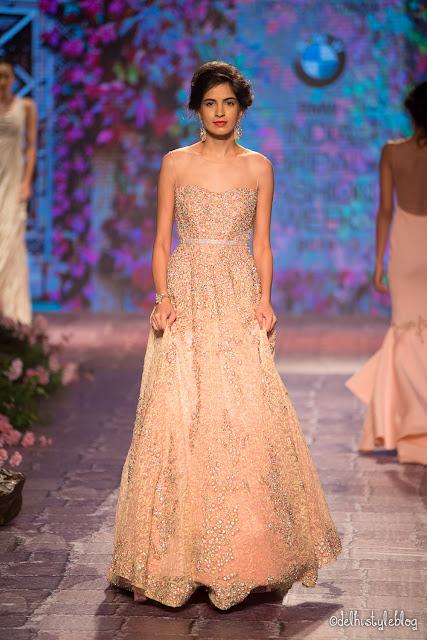 Swarovski Crystal Blush Rose Jyotsna Tiwari IBFW2015