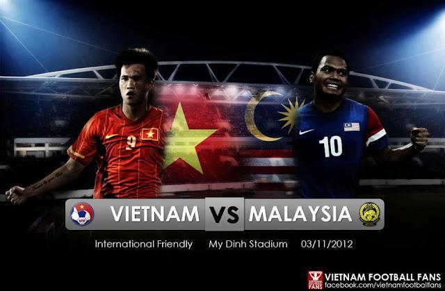 Keputusan Perlawanan Vietnam vs Malaysia 3 November 2012