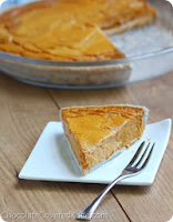 http://chocolatecoveredkatie.com/2013/11/04/healthy-pumpkin-pie-recipe/