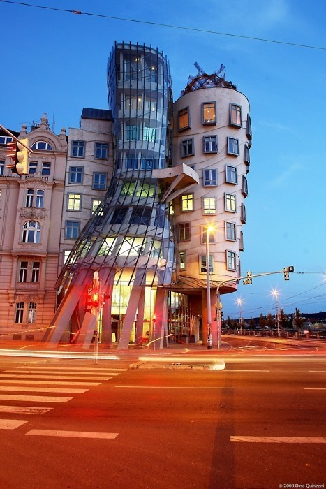 Dancing house,Prague, Czech Republic