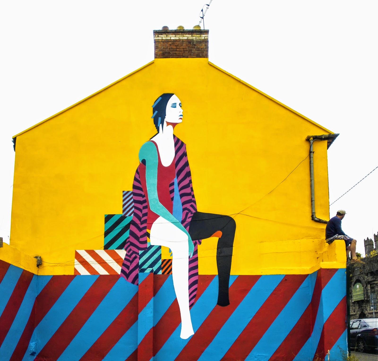 Maser new mural limerick ireland streetartnews for Mural ireland