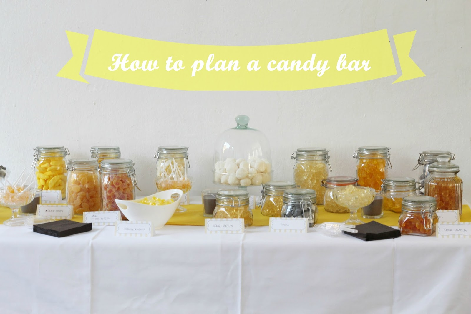 CharlottenMarotten: How to plan a Candy Bar *für Geburtstage ...