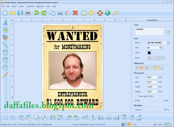 Ronyasoft poster printer v3.01.19