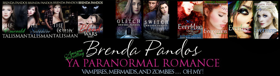 Brenda Pandos - Young Adult/New Adult Paranormal Romance Author