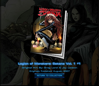 Cover of Legion of Monsters: Satana #1 won at Marvel: Avengers Alliance