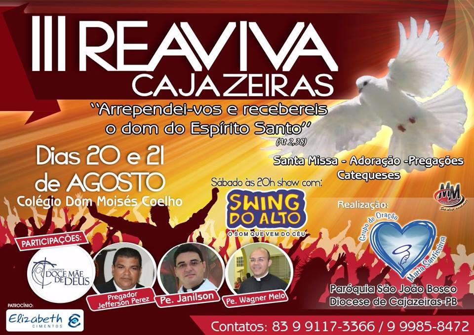 3° REAVIVA CAJAZEIRAS