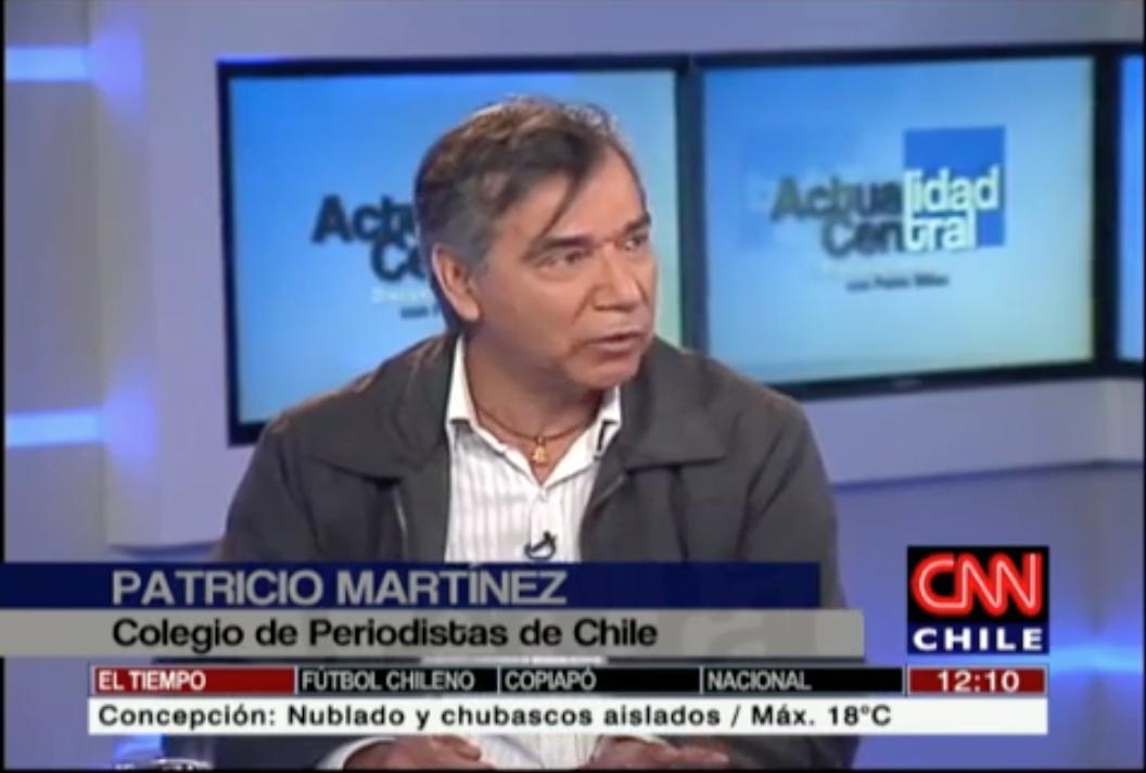 VIDEO: El rol de los medios de comunicación en las crisis políticas (CNN Chile)