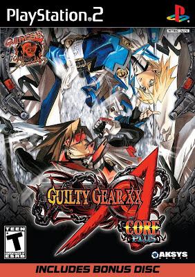 Guilty Gear XX Accent Core Plus PS2
