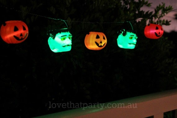 glow stick halloween lanterns pumkins kids craft